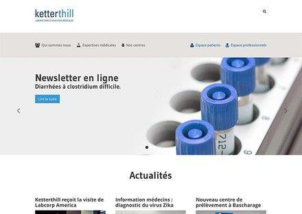 Homepage of ketterhill.lu